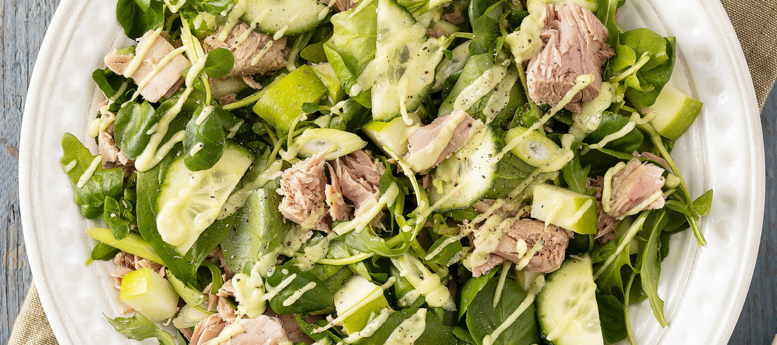 Super Greens And Tuna Salad John West Uk