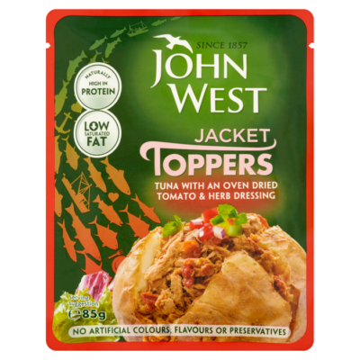 Jacket Toppers – Oven Dried Tomato & Herb Dressing